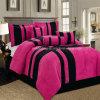 De hete Roze Reeks van het Beddegoed Pacthwork van de Polyester 7pieces van 100%