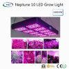 Neptuno de alto rendimiento 10 LED crece ligero para el crecimiento hidropónico del sistema