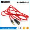 кабель 3.5mm стерео тональнозвуковой вспомогательный для мужчины к женским ударам
