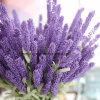 Pièce maîtresse de lavande artificielle mariage Bouquet de fleurs de lavande artificielle de la soie