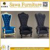 König-und Königin-Thron-Stuhl für das Hochzeits-Speisen