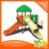 Parque de diversões de recreio para as crianças de plástico conjuntos de jogar ao ar livre