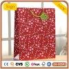 Rotes Muster-überzogenes Papier-Weihnachtsgeschenk-Papierbeutel