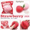 Nette weiche sahnige Erdbeere-langsames steigendes Squishy Spielzeug China-Kawaii