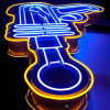 Señal de publicidad exterior tira de LED Neon Flex neón dinámica RGB
