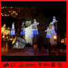 Van LEIDENE van de Straat van de Hoek van de Decoratie van Kerstmis de Lichten Pool van het Motief