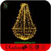 Decoração clara do Natal do diodo emissor de luz do pendente