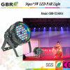 36HP*3W luz PAR LED, LED de exterior luz PAR