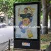 La publicidad en vallas de desplazamiento de aluminio de la calle Lightbox (TOP-SB011)