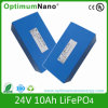 Navulbare 24V 10ah LiFePO4 Battery voor e-Bike