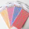 Checkered сторновки зеленого цвета 100% Eco-Friendly бумажные