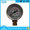 1.5 Polegada 40mm Manômetro Medidor de pressão em aço inoxidável