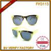 Fk0113 Classic gafas de sol con marco dorado