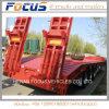 70 Prijs Singapore van de Aanhangwagen van de Apparatuur Lowboy van de ton de Lage Flatbed