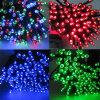 Lumières solaires de chaîne de caractères de couleur multi pour l'éclairage de vacances de Noël