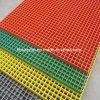GRP de plástico reforçado por fibra de vidro moldado gradeamento plana de malha