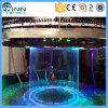 Fontaine de rideau en eau de cascade à écriture ligne par ligne de Digitals