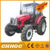 Alimentador de granja diesel del manejo hidráulico de la maquinaria agrícola 80HP 4WD