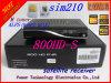 SIM 210 Prozessor Broadcom des m-Tuner-300MHz 7401 Traumsatellitenempfänger des m-Tuner-Dm800HD 800s