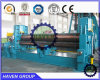 Máquina de rolamento de dobra da placa universal superior hidráulica do rolo W11S-25X4000