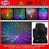RGB 15kpss DMX Animation Mini, das Laser Disco Light Verschiebt-Head