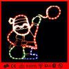 LED 크리스마스 밧줄 산타클로스 주제 빛