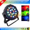Het Amerikaanse Mega LEIDENE van DJ PARI kan Lichten van het 18PCS*3W RGB DJ Effect
