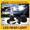 Bulbo aprovado do farol do diodo emissor de luz do carro de Canbus do feixe de ponto de RoHS do Ce auto