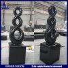 Fabbrica nera del Headstone di eternità del granito dello Shanxi