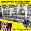 2 in 1 het Vullen van het Bier van de Fles van het Glas het Afdekken Machine