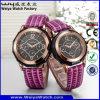 Изготовленный на заказ кварц вахты логоса соединяет wristwatches (Wy-072GB)