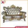 Sofà dorato di lusso per la camera da letto/salone/ristorante/domestico/hotel/cerimonia nuziale/la sala da pranzo