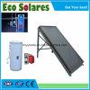Split chauffe-eau solaire sous pression avec la plaque de collecteur solaire plat