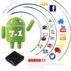 Android TV Box IPTV opcional RK3328 Zx918 de cuatro núcleos A53 Android 7.1.