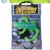 Plástico grosso TPR criaturas pegajoso brinquedos para bebés para a festa do Natal Fanny Dom