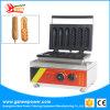 Popular Formato 2 Hot Dog waffle cafeteira waffle máquina Stick Maker para equipamento de restauração