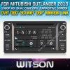 De Speler van de Auto DVD van Witson voor Mitubishi Outlander