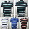 Horizontale Streifen-Golf-Hemd-/Polo-Hemd-Männer