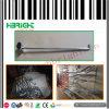 Einzelne Zeile galvanisierte Metallbildschirmanzeige-Haken