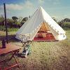 5mの綿のキャンバスの鐘テントのGlampingの贅沢なテントのホテルのテント