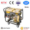 Conjunto de generador diesel fácil del soldador que comienza