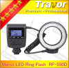 Nikon를 위한 낮은 Price Wholesale Travor Macro LED Ring Flash RF 550d 또는 Canon 또는 Olympus 또는 Panasonic