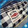 Nova Etiqueta de tecido Productsatin/logotipo tecidos de Damasco/tecidos adesivos etiquetas de vestuário