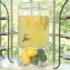 Tarro de cristal soplado mano del dispensador de la bebida