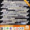 Мозаика нового Tinfoil стены конструкции золотистого стеклянная (G855020)