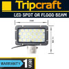Witte 24W Auto LED Work Lamp 9-32V High Power voor Offroad Driving ATV, 4WD, SUV, Boat, Truck, Agricultural Machinery