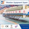 Filtre-presse hydraulique de membrane pour l'industrie minière