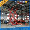 Tijera fijo hidráulicos personalizada alquiler de la plataforma de elevación para la venta