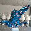 Figurine da estátua do pássaro da fibra de vidro grande