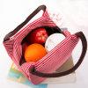 2017の方法携帯用絶縁されたキャンバスの昼食袋の絶縁体のパッケージの携帯用防水キャンバスの昼食はRice2017方法携帯用絶縁されたキャンバスが付いている昼食を袋に入れる